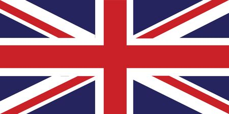 Great Britain Flag standard size colour and ratio