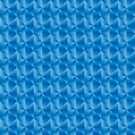 Fondo blu dell'illustrazione di vettore del modello del triangolo geomatric Vettoriali