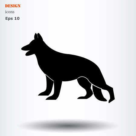 veterinary medicine: Stock Vector Illustration: cat and dog symbol of veterinary medicine Illustration
