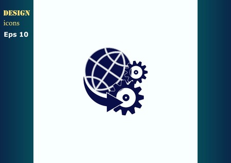 spare: spare parts icon Illustration