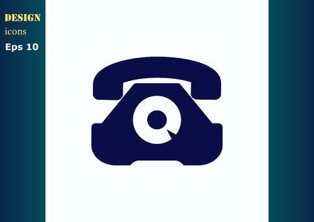 bell ringer: Ringer icon Illustration