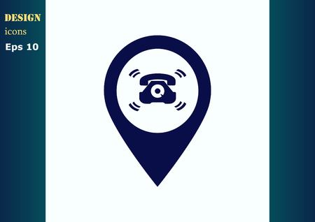 ringer: Ringer icon Illustration