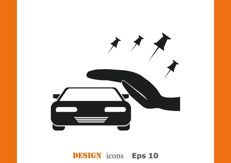 the car: Car icon