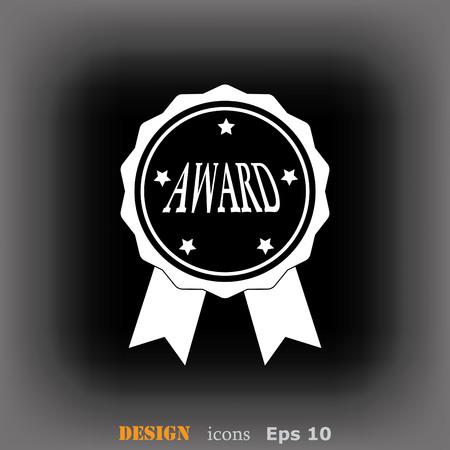 honor: Medal, reward, honor icon