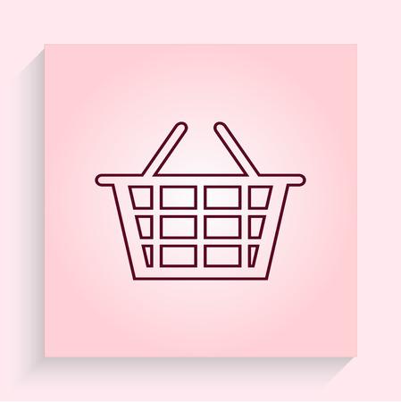 trolley: Shopping trolley, cart icon