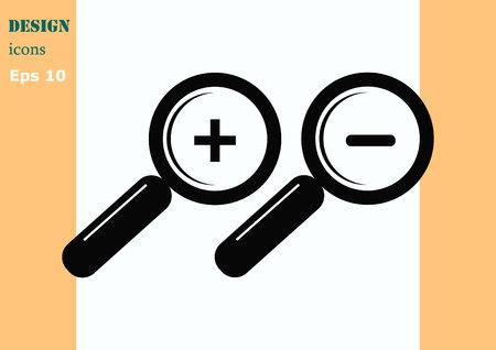 scrutinize: Search icon