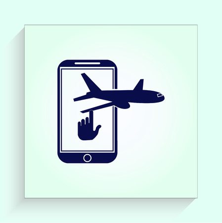 arrive: aircraft icon