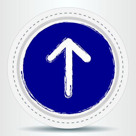 indicates: Arrow indicates the direction icon