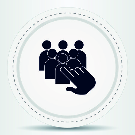 thumbs up group: Friendship icon