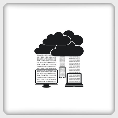documents circulation: technology icon