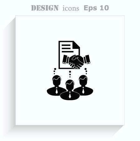 Accord icône