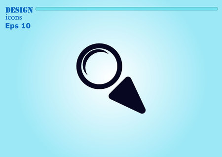 scrutiny: Search icon