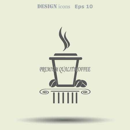 black coffee: Coffee icon