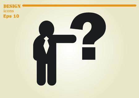 faq icon: faq icon, question icon. Illustration