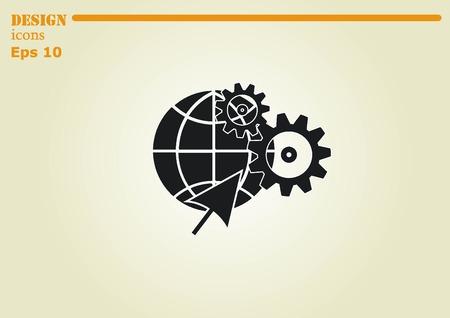 icon series: spare parts icon Illustration