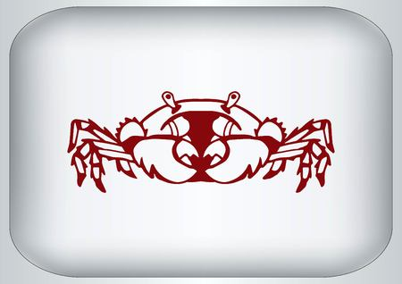 crabby: Vector illustration of a crab.