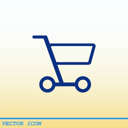eshop: Shopping trolley, cart icon