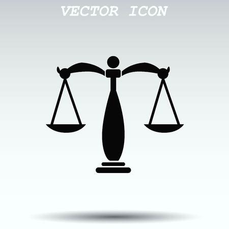 Scales icon Illustration