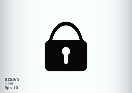 coded: Lock, safety, security icon