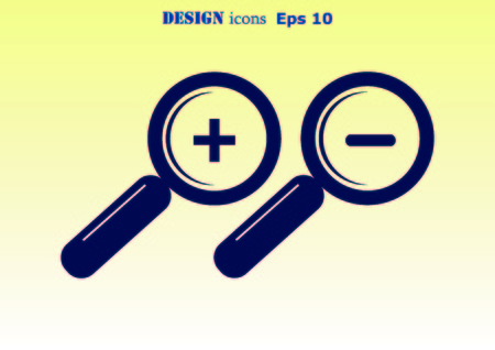 scrutiny: Search icon