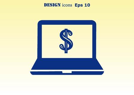 electronic: Electronic money icon