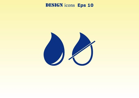 watery: Droplet icon