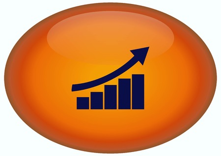 Diagram icon. Stock Photo