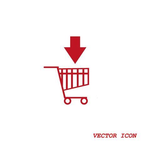 shopping trolley: Shopping trolley, cart icon