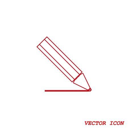 grafit: Ołówek pisanie ikon.