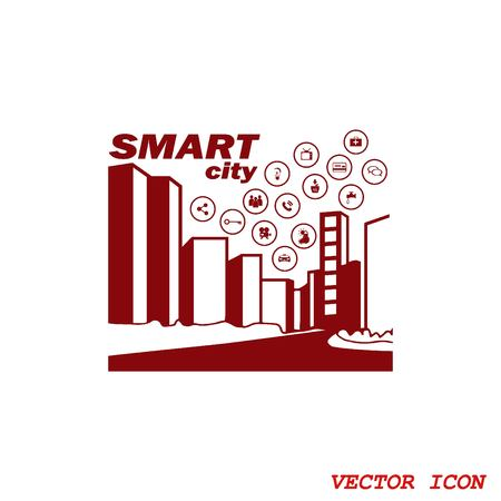 electric train: Smart sity icon. Collection modern trend concept.  vector illustration symbol Illustration