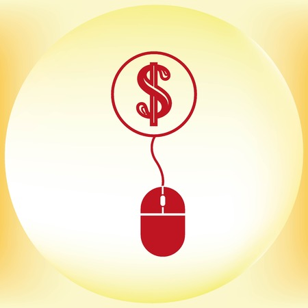 Electronic money icon