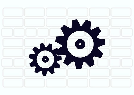 spare parts icon Иллюстрация