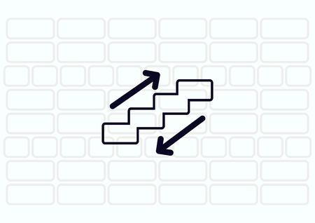 escalate: Escalator icon