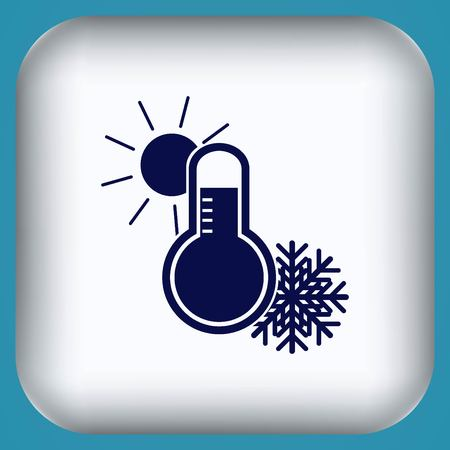 Thermometer icon Illustration