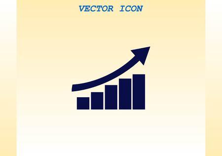 stat: Diagram icon. Illustration