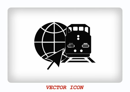 Freight train icon