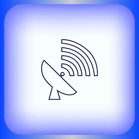 antenna icon Illustration