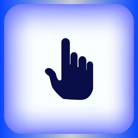 cursor: Hand cursor Illustration