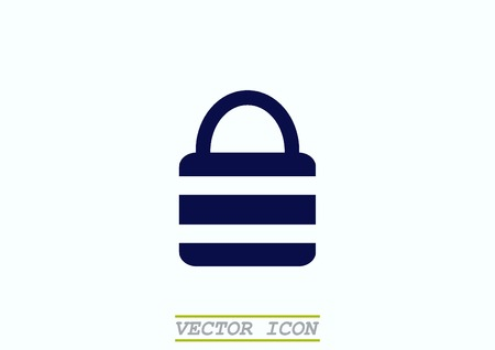 secured: Lock, safety, security icon