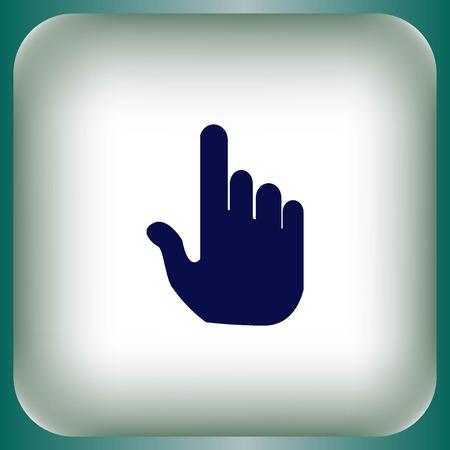 Hand cursor Illustration