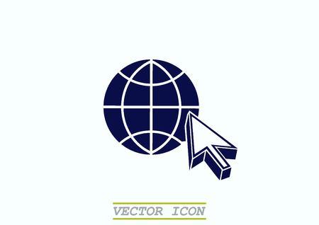 corporations: Globe icon Illustration