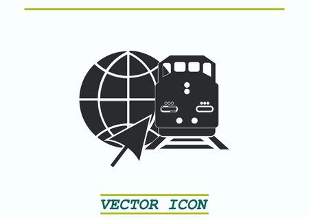 Freight train icon