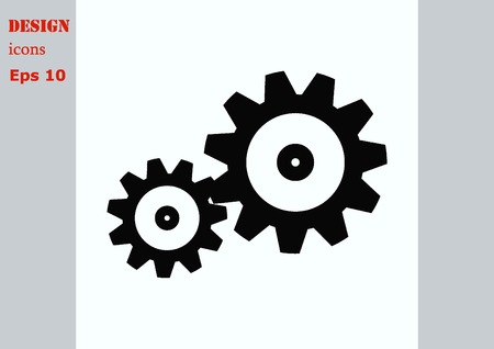 spare: spare parts icon Illustration