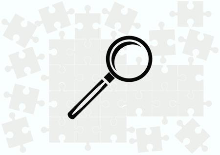 analyze: Search icon