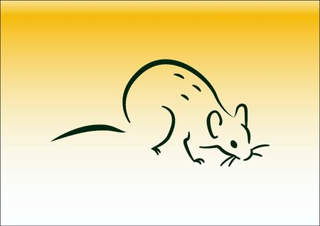 harmful: Rat icon. Mouse, harmful rodents icon.
