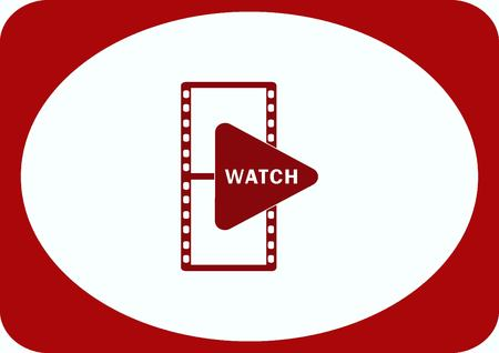 Watch see  icon