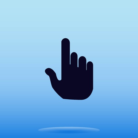 hand cursor: Hand cursor Illustration