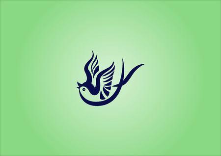 Bird icon. vector illustration. Illustration