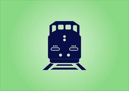 icono de tren de carga