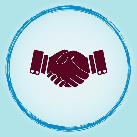 Agreement icon Illustration